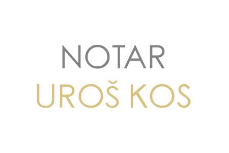 Notar Uroš Kos